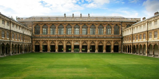 Wren Library, Trinity College, Cambridge, where Russell studied and taught / ©Cmglee / WikiCommons
