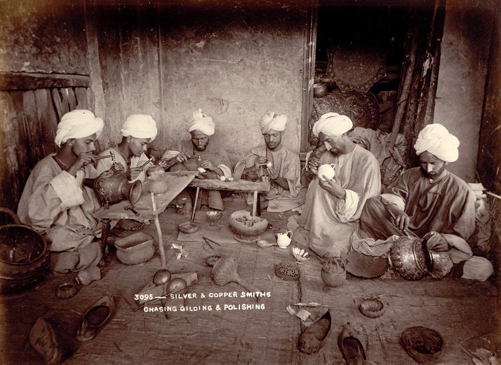 Workshop Jammu and Kashmir, 1895/©Unknown/WikiCommons