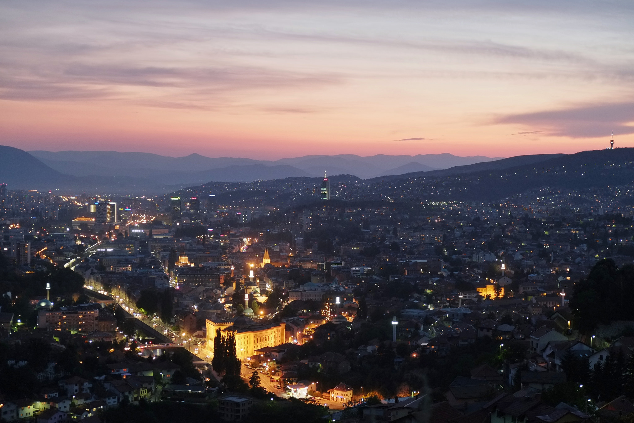 Sarajevo, Bosnia and Herzegovina | © Gabriel Hess/Flickr