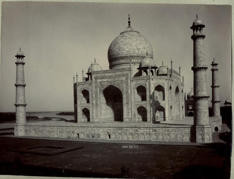 Taj Mahal, 1890/©Unknown/WikiCommons