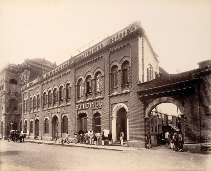 Times of India Building, 1880/©E.O.S. Company/WikiCommons