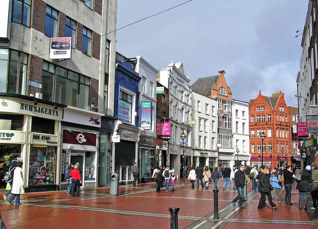 Grafton Street, Dublin, Ireland   © Donaldytong / WikiCommons