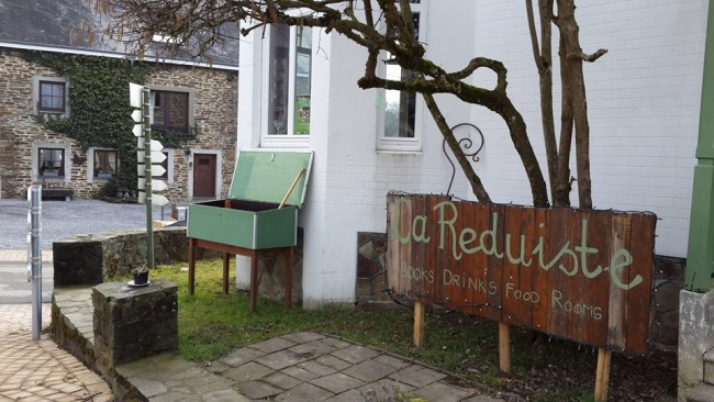 Veggie cafe, event venue, bookshop and b&b in one/Courtesy 'La Reduiste'