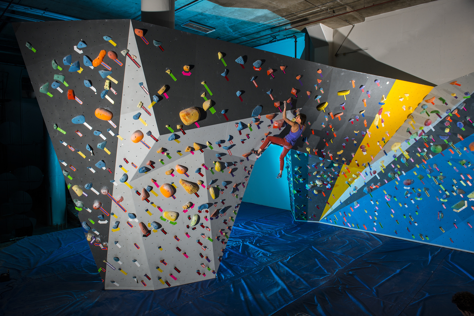 Dogpatch Boulders Climbing Wall | Courtesy of Dogpatch Boulders