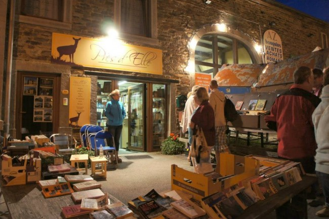 The Night of Books in Redu/Courtesy www.redu-villagedulivre.be