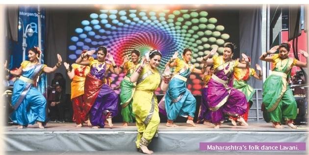 famous folk dances of india