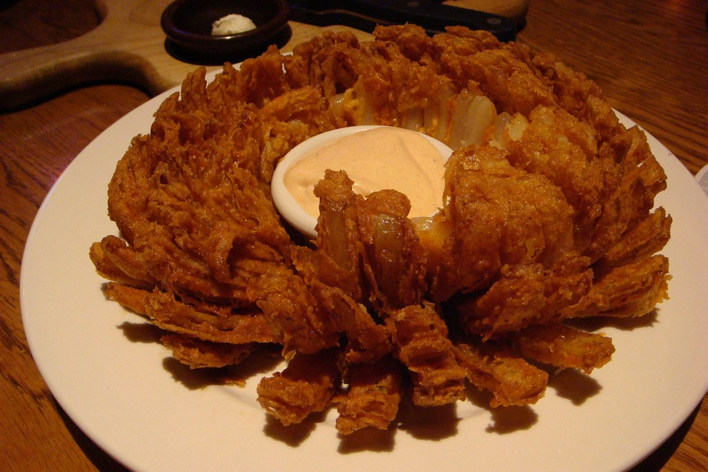 Outback's Bloomin' Onion that it is so famous for |© Hideyuki KAMON/Flickr