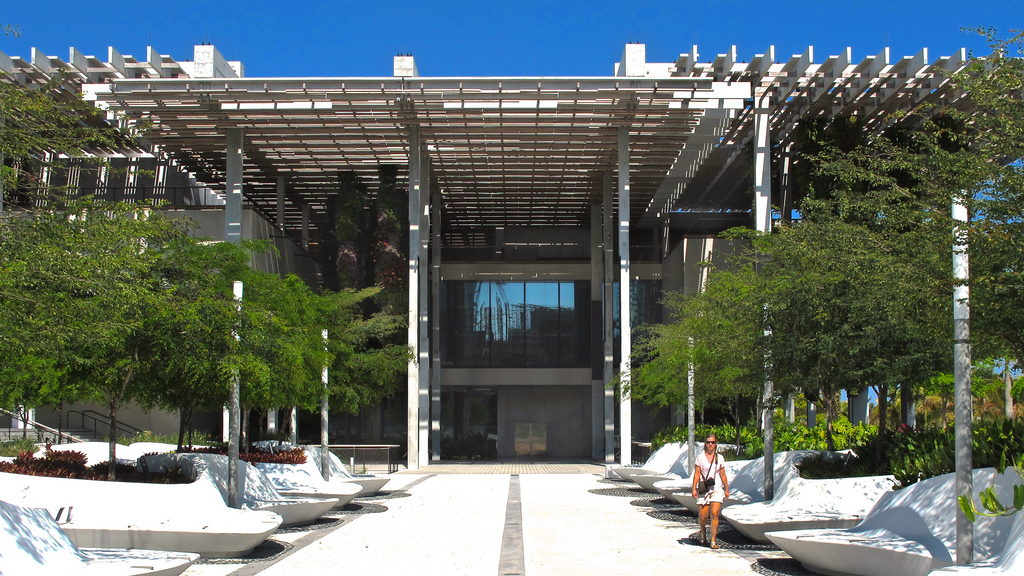Pérez Art Museum is a contemporary art museum that relocated in 2013 to the Museum Park in Downtown Miami