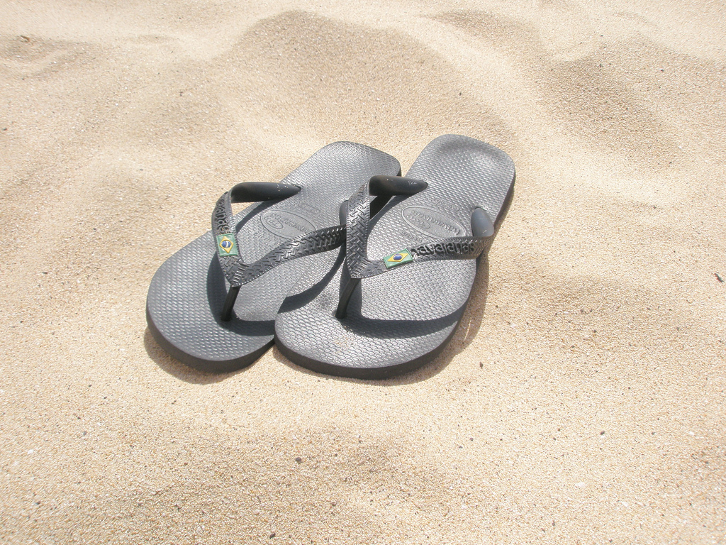 Simple yet chic style of Havaianas |© wendyvanesveld/Flickr