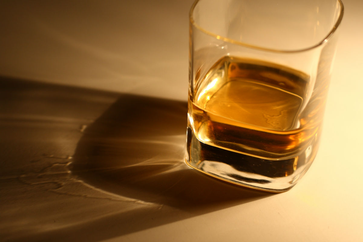 Whisky can be affected by adding water