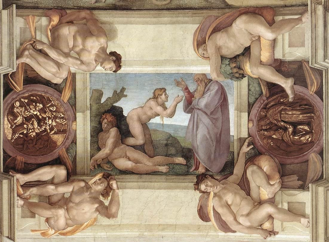 Michelangelo\'s Must-See Frescoes In The Sistine Chapel