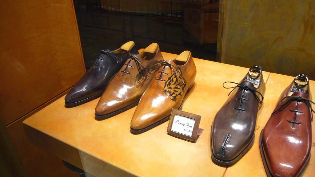 Berluti sell Male designer dress shoes | Courtesy of Kent Want/Flickr