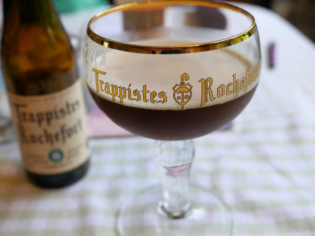 The Rochefort Trappist glass, a splendid example of an elaborate chalice | © Smabs Sputzer/Flickr