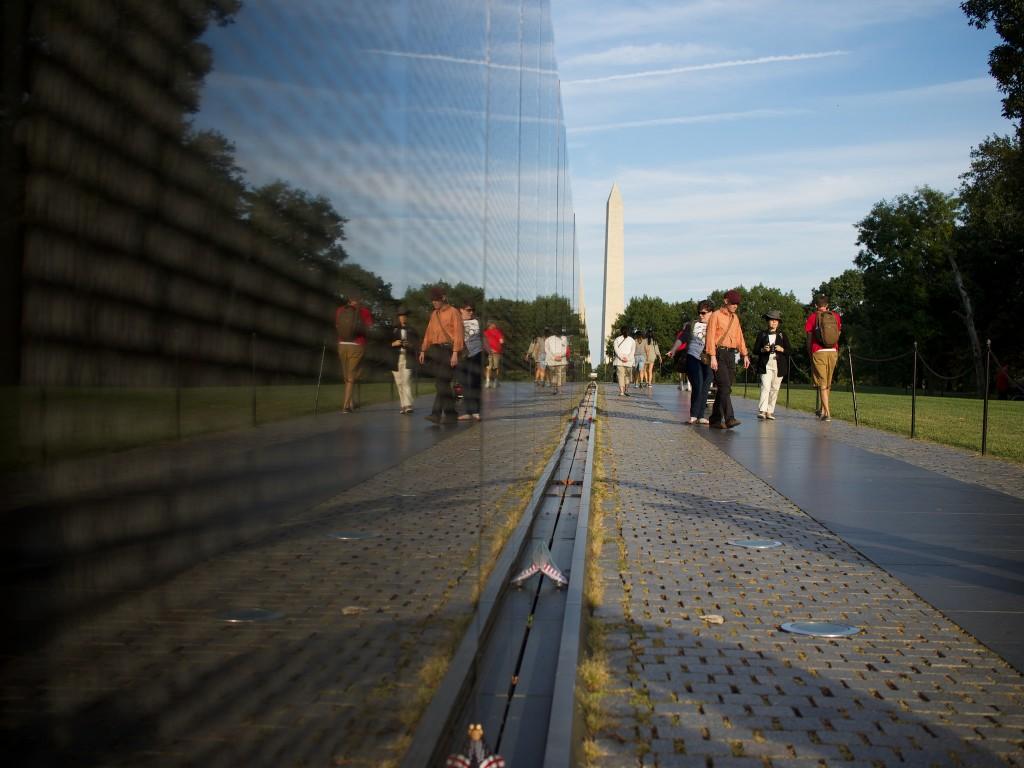 Vietnam Memorial Wall   © Austin Kirk/Flickr