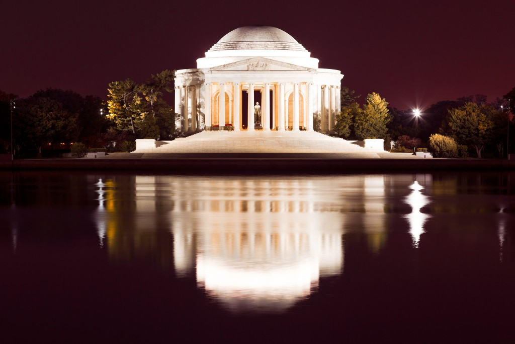 Jefferson Memorial Across The Tidal Basin   © Nicolas Raymond/Flickr