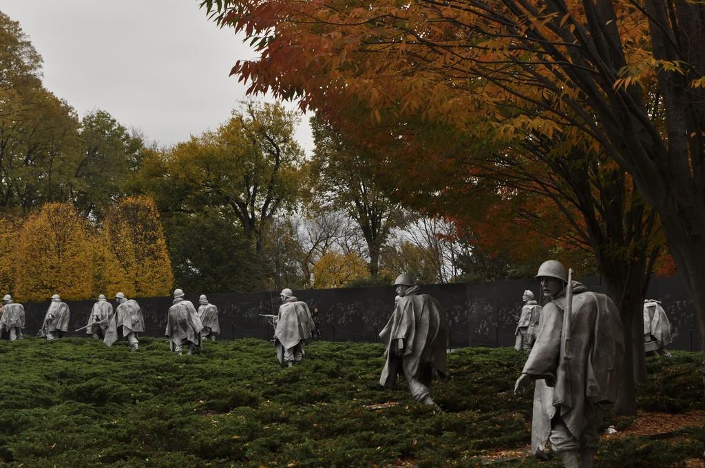 Korean War Memorial   © Michele Jannise/Flickr