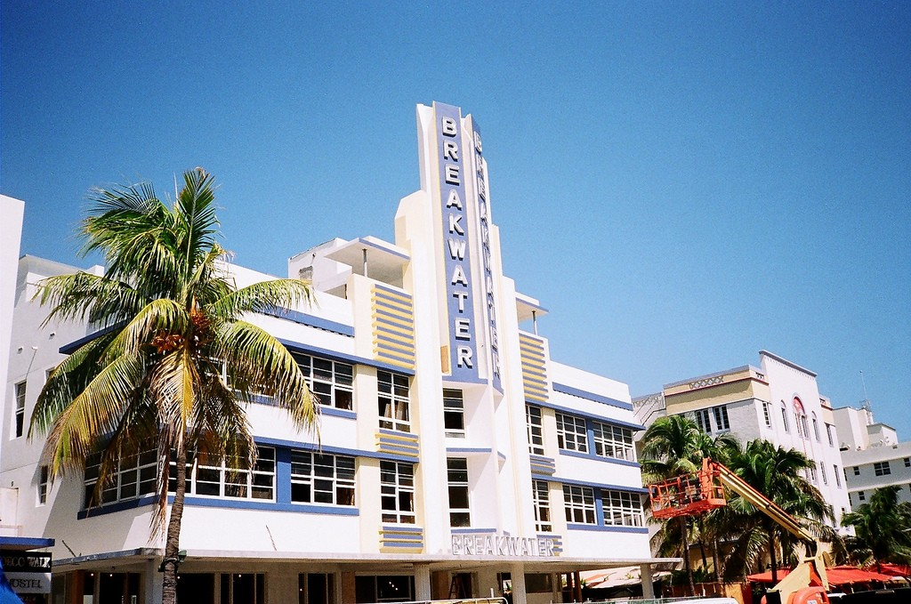 The Breakwater Hotel Miami Beach Courtesy Of Phillip Pessar Flickr