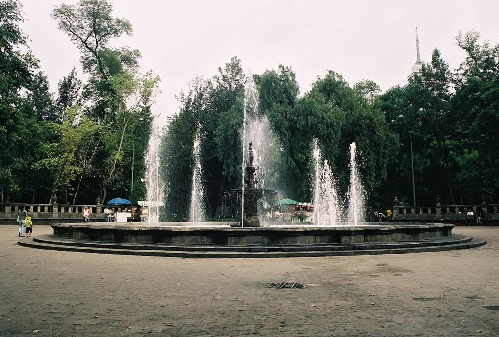 Alameda Central Park fountain | © Jesús Gorriti/Flickr