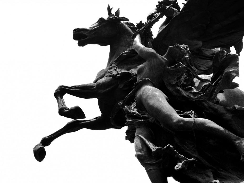 Estatuas de los Pegasos   © Rodrigo Huerta/Flickr