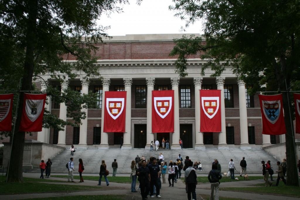 Harvard University's Widener Library| ©Joseph Williams/Wikimedia