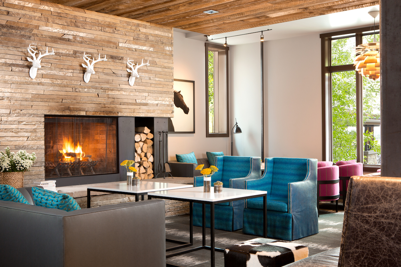 Hotel Terra Jackson Hole Lobby Courtesy Of