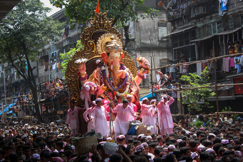 In Pictures Indiau0027s Spectacular Ganesh Chaturthi