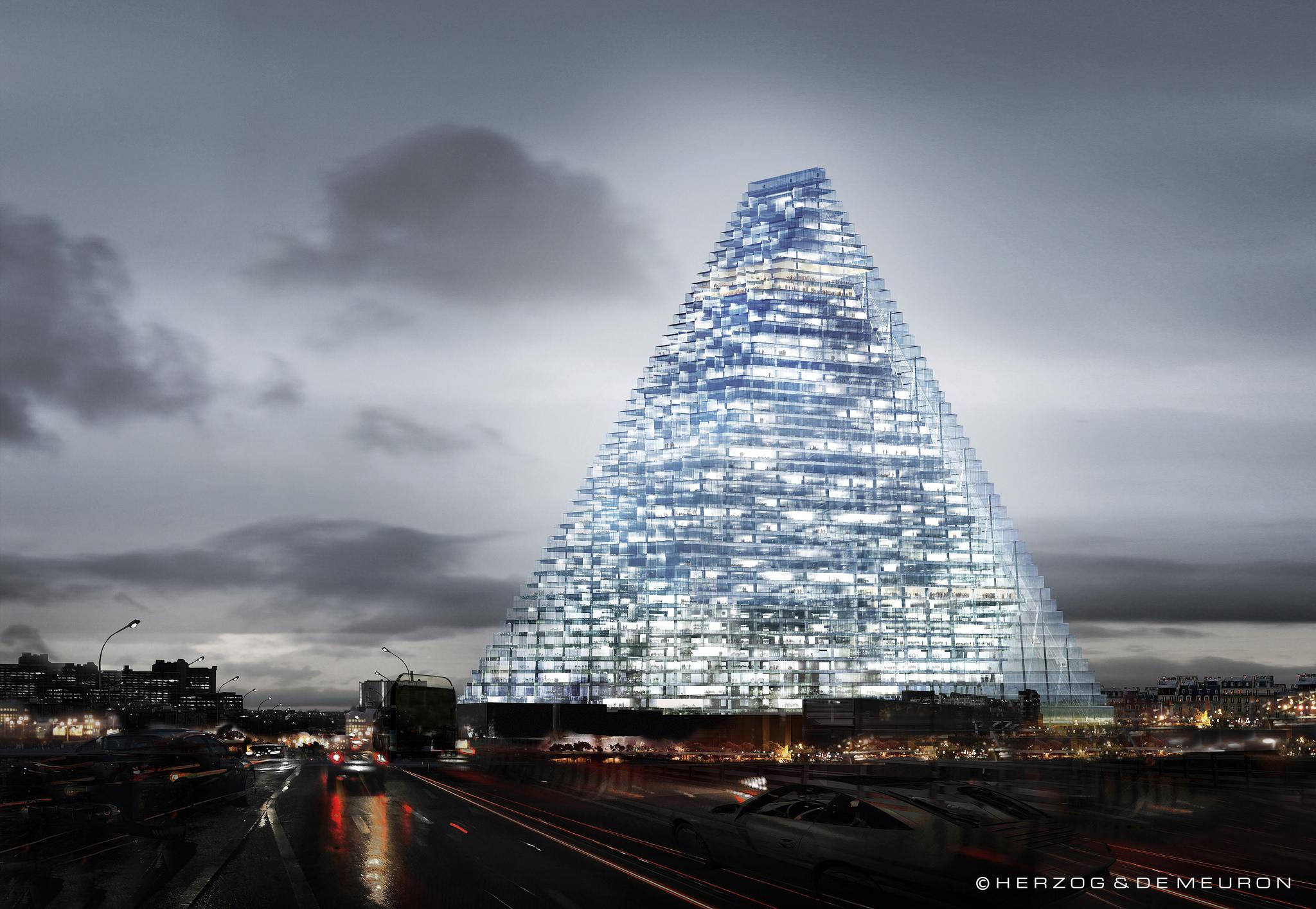 the 9 tallest buildings in paris