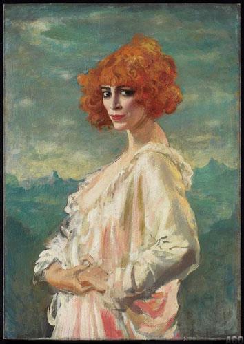 Augustus Edwin John, 'The Marchesa Casati', 1919   Via The Art Gallery of Ontario