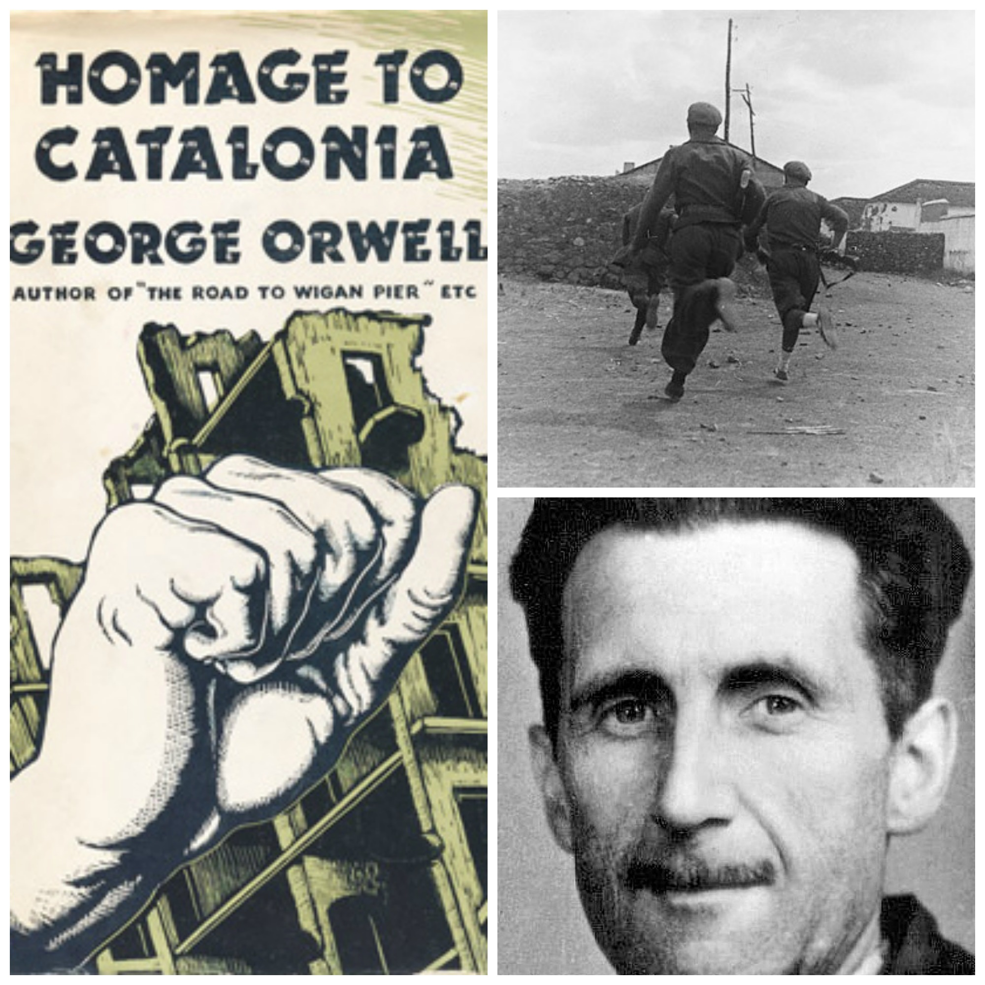 a look at george orwell s barcelona