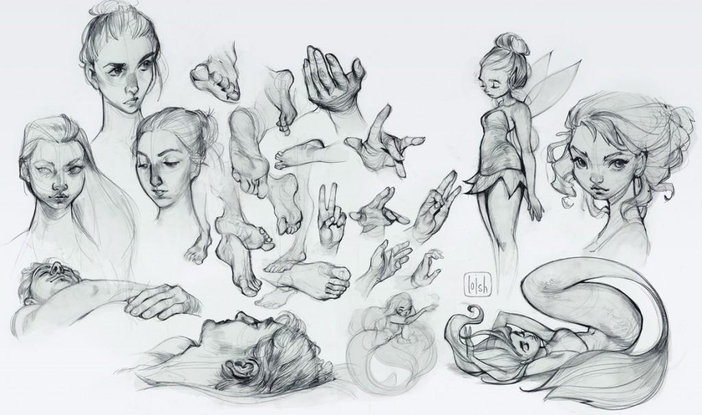 Loish: Sketch Dump, 2016 | © Loish