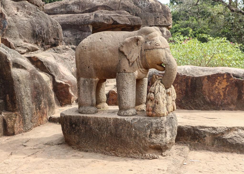 Udayagiri Caves - Ganesha © BERNARD GAGNON / Wikicommons