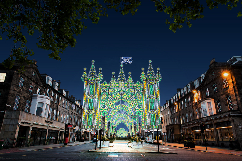 George Street | © David P Scott / Courtesy Of Edinburgh's Christmas