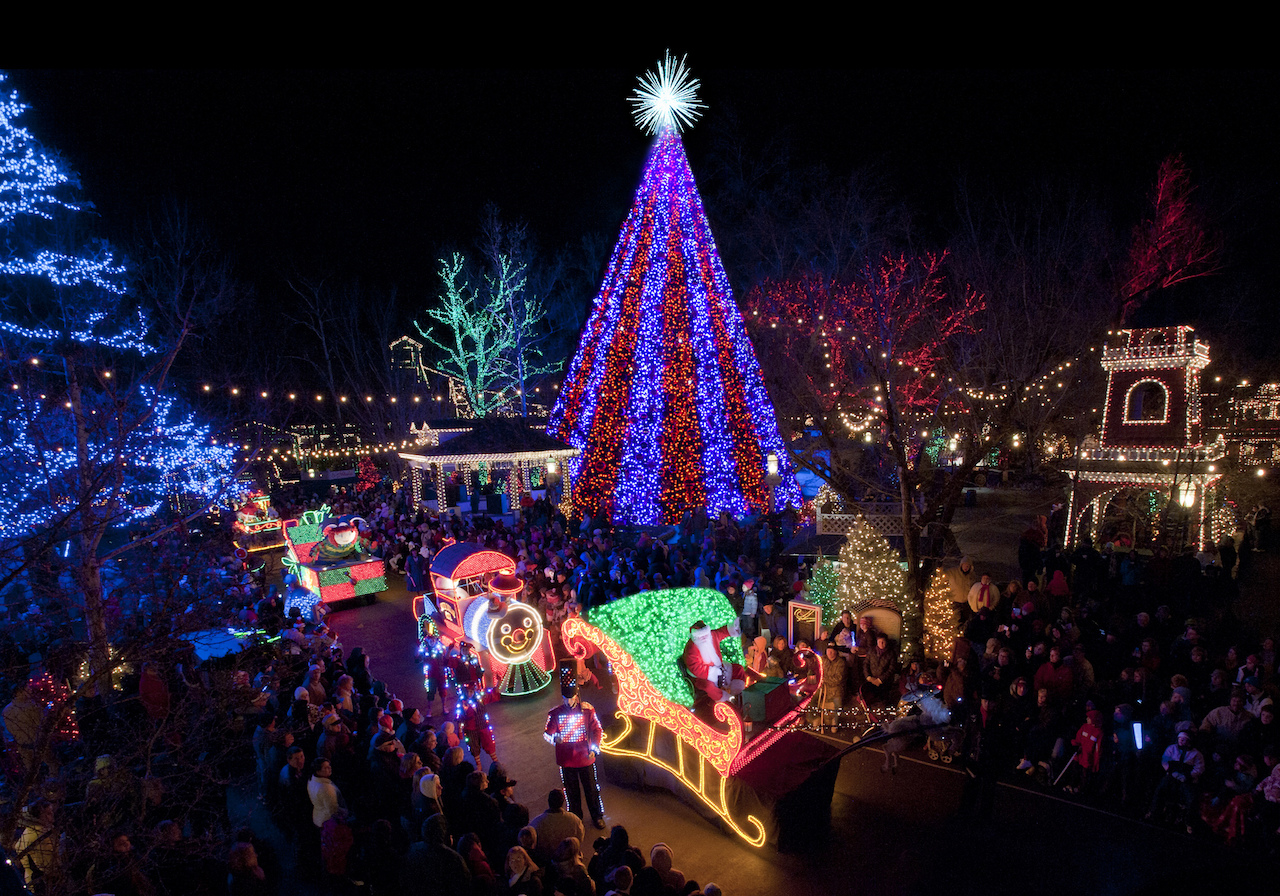 where to see the flashiest christmas lights in the us