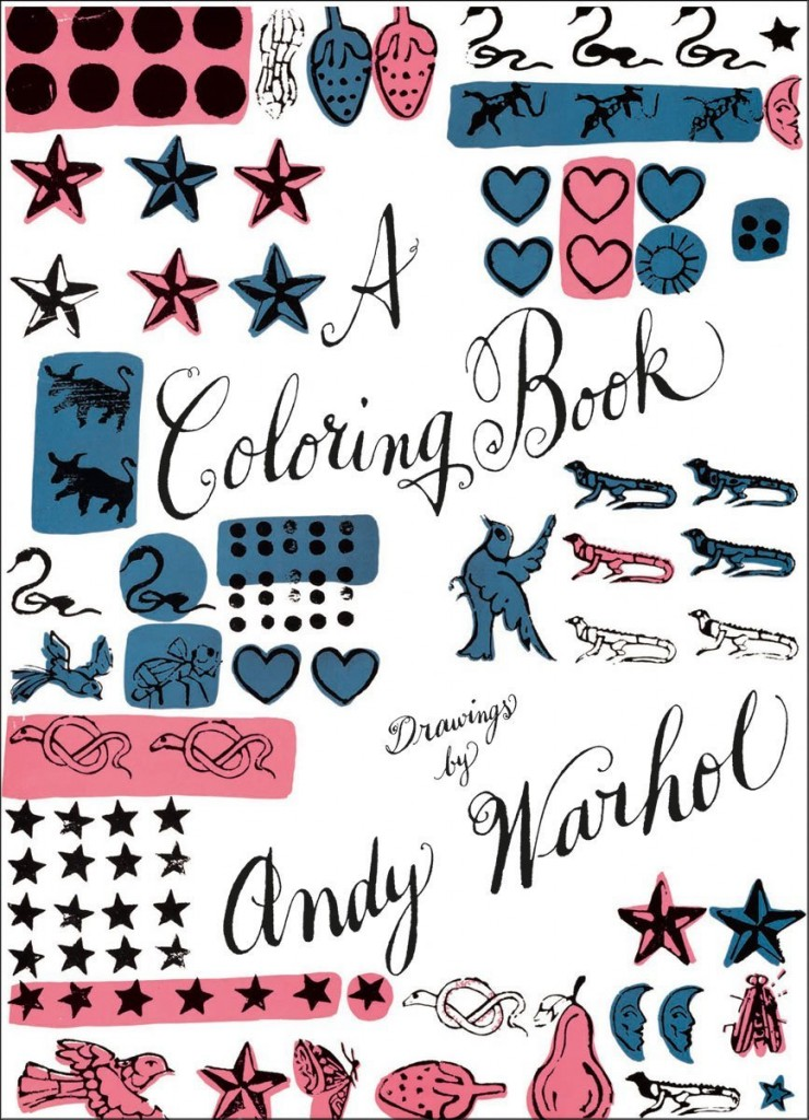 Andy Warhol Coloring in Book copy