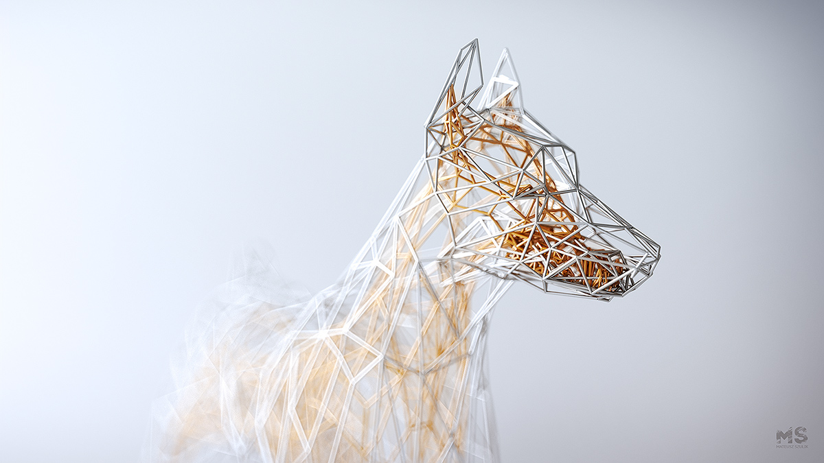 These super realistic 3D \'wire\' animals will blow your mind