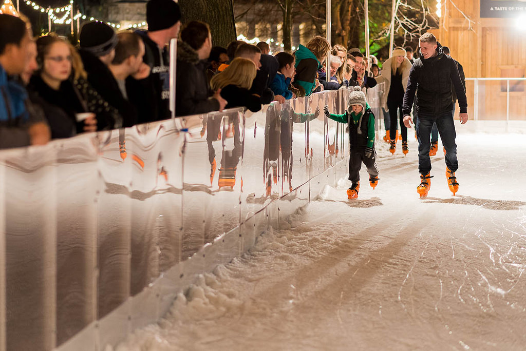 Princes Street Ice Rink | © Iain Cameron/Courtesy Of Edinburgh's Christmas