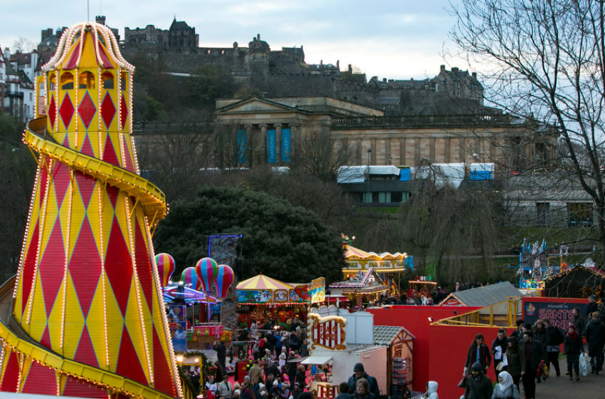 Edinburgh At Christmas Time | Courtesy Of Edinburgh's Christmas