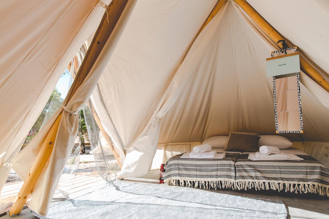 Obonjan Bell Tent Interior | Justin Gardner