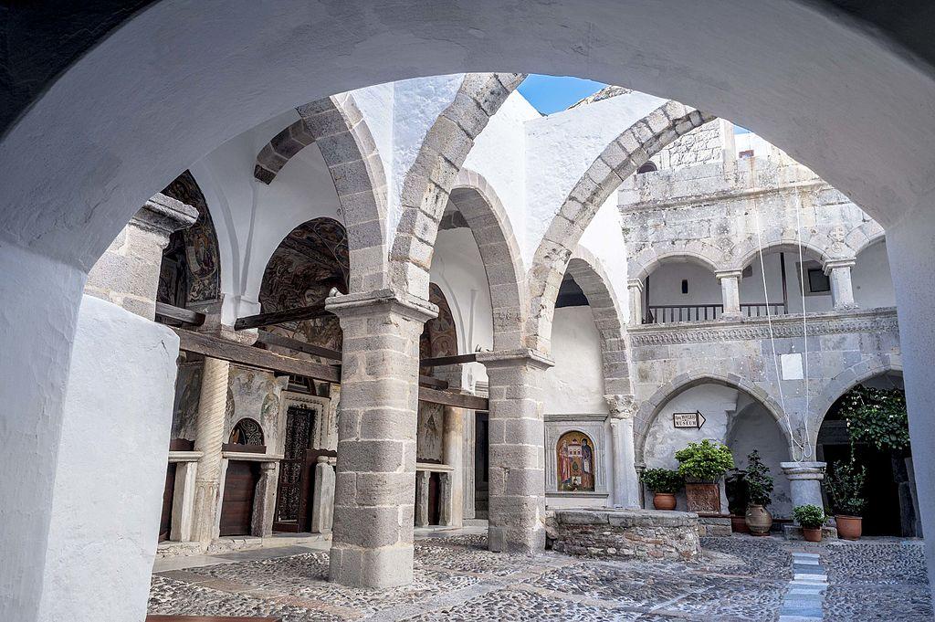 Patmos Monastery | © Thanasis Christodoulou/ WikiMedia
