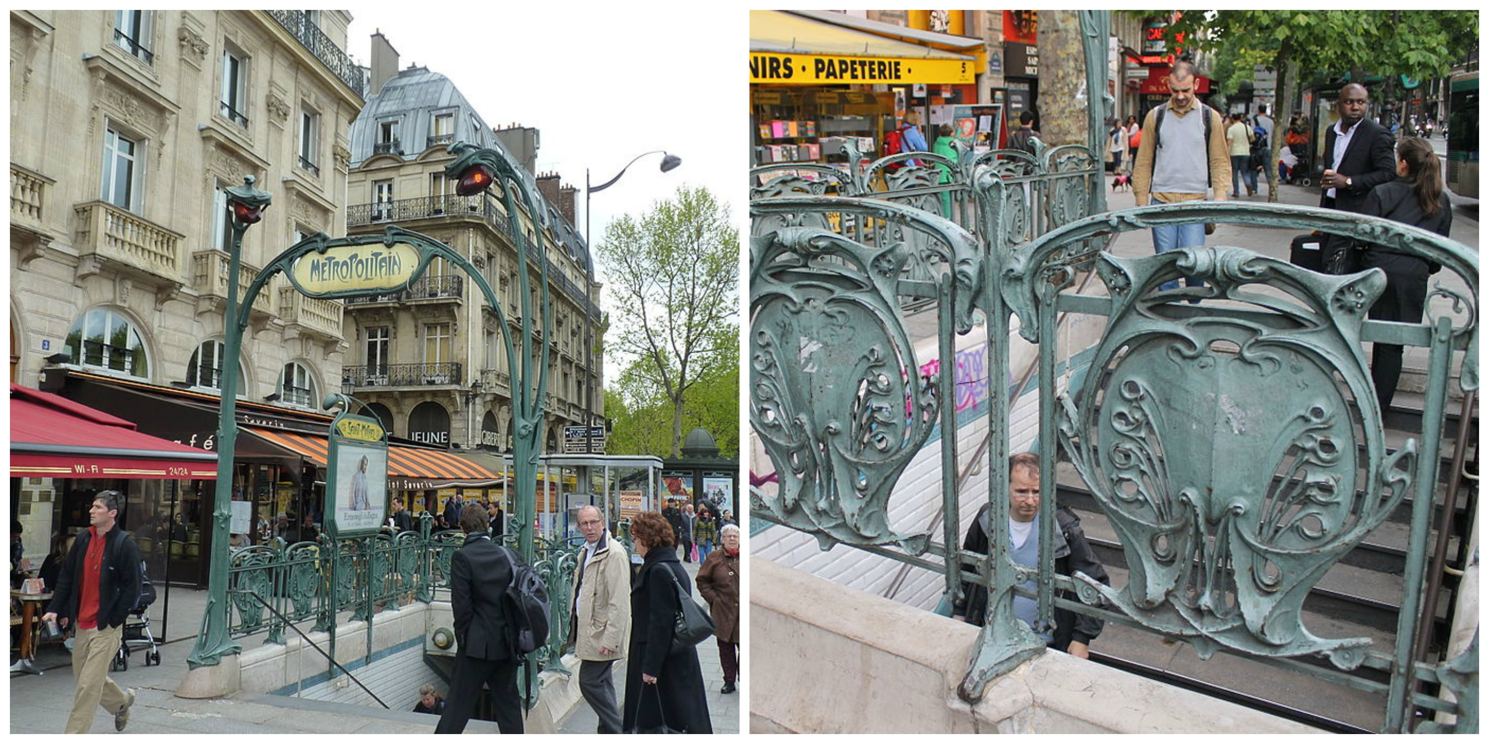 10 Of The Most Beautiful Art Nouveau Metro Stations in Paris