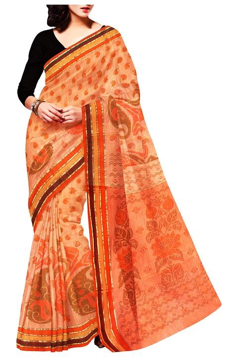 Indian saree | Via Pixabay