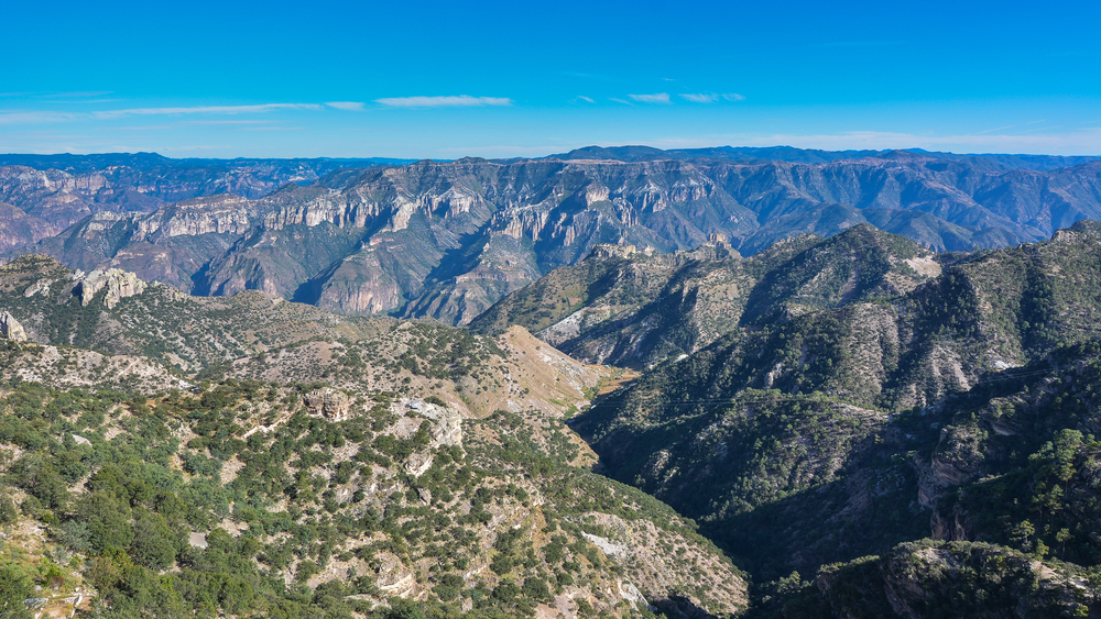 copper canyon sierra madre occidental chihuahua mexico jejim shutterstock