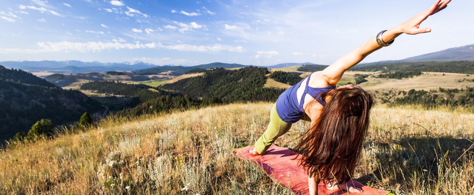 Cowboy Yoga at The Ranch, Montana