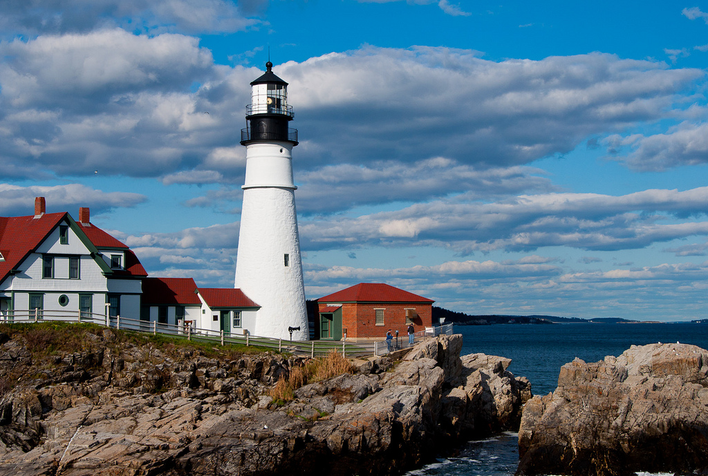 The 13 most wonderful lighthouses across the usa portland head lighthouse barb ignatiusflickr freerunsca Gallery