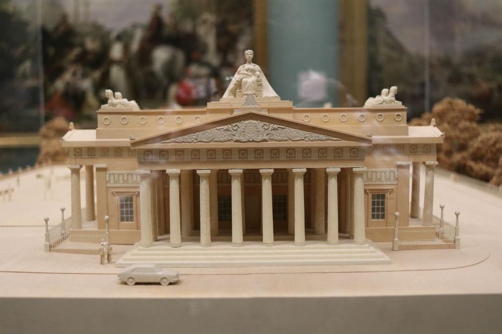Scottish National Gallery Model | Courtesy Of Tori Chalmers