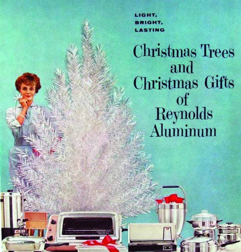 Advert for Reynolds Metals aluminum trees and gifts, early 1960s. Reproduced with permission from Reynolds Consumer Products