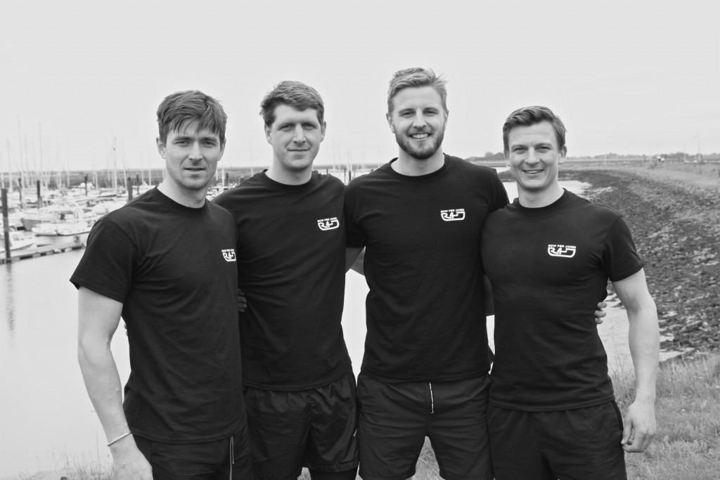 Team Row For James will be crossing the Atlantic Ocean to help raise money for mental health | © Row For James