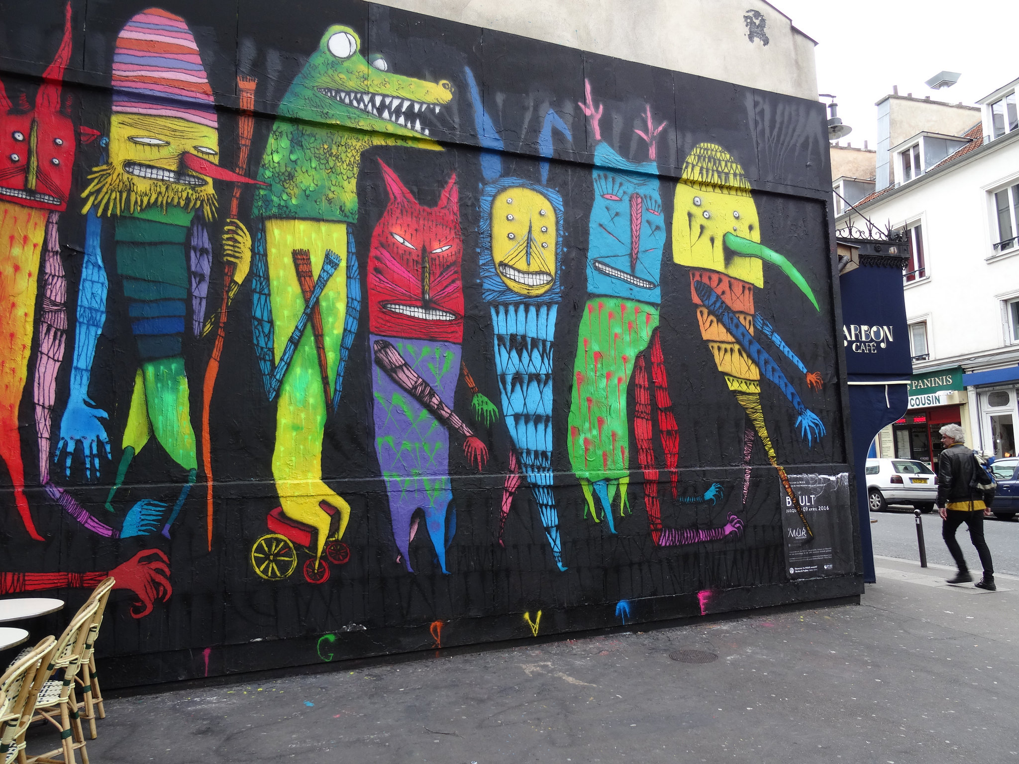 10 Places To Find Amazing Street Art In Paris