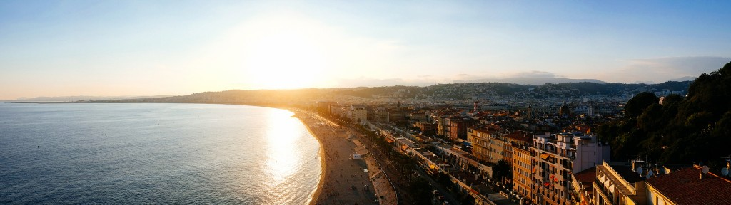 The panorama from Castle Hill, Nice is the best in town | © Jonas Weckschmied/flickr
