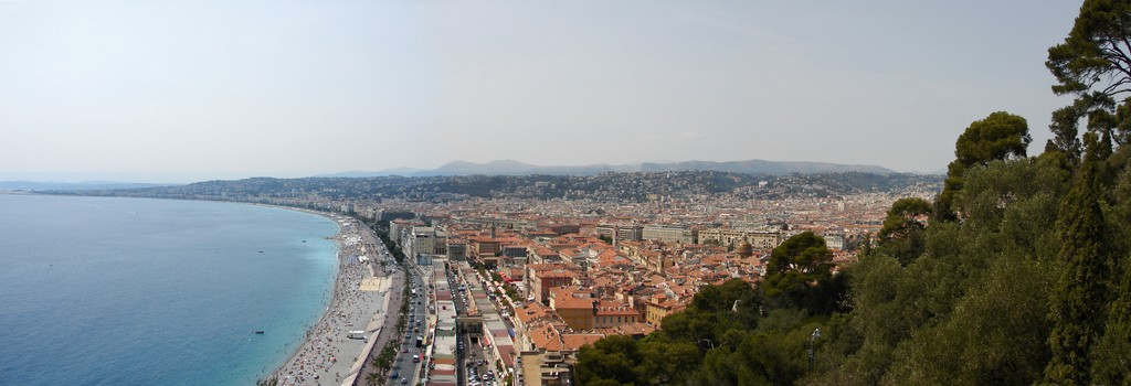 Castle Hill in Nice is a perfect place to stroll   © Marcel Oosterwijk/flickr